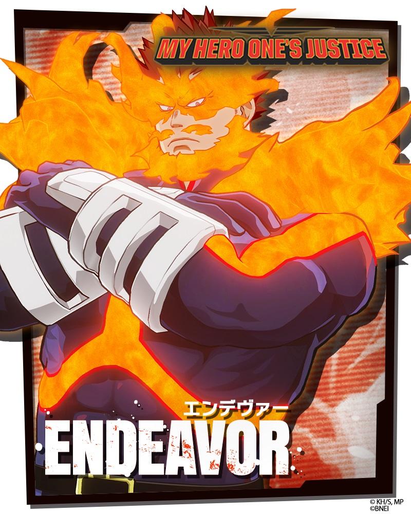 my hero one's justice, My Hero One's Justice: Annunciato Endeavor