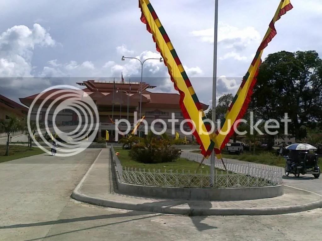 Maguindanao capitol in Shariff Aguak