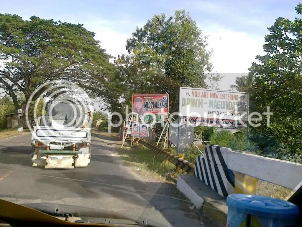 Maguindanao road shot