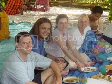 Jeff and Jill meet Shaun Morgan of Seether and Amy Lee of Evanescence during their honeymoon in Fiji