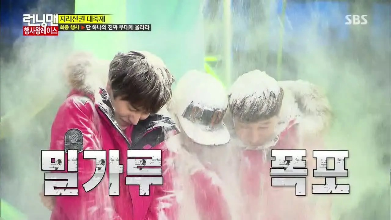 Image result for running Man flour