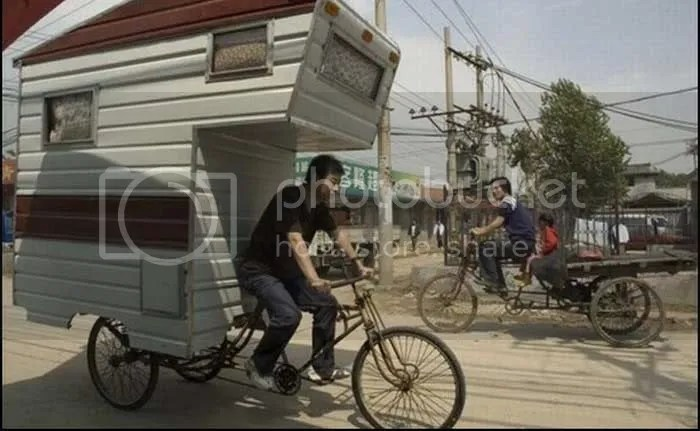 House on the Wheels in China pictures 1