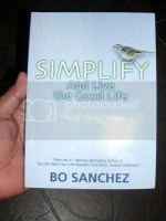 simplify and live the good life book by Bo Sanchez