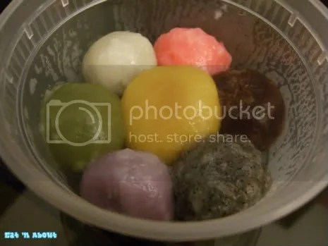 Bubble Queen: mochi/rice ball things