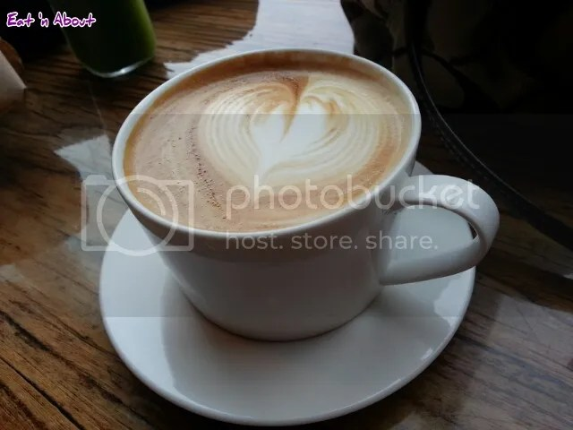 Beaucoup Bakery & Cafe Latte