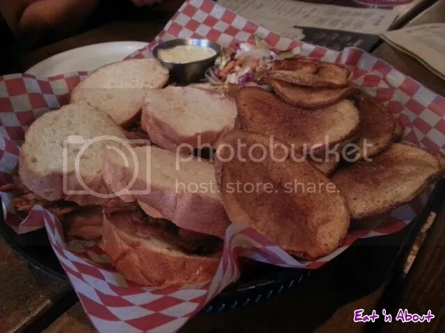 """The Copper Pig BBQ and Social House, """"Almost Famous"""" Pulled Pork BBQ Sliders"""