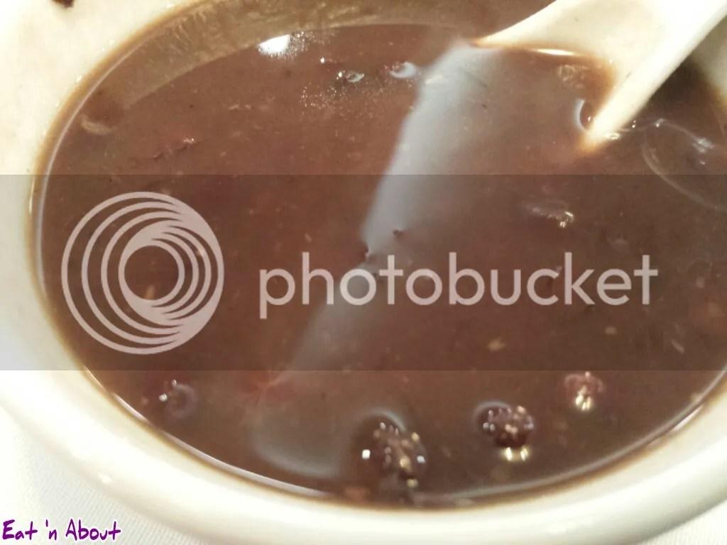 Golden Sea City Restaurant: Red Bean Soup