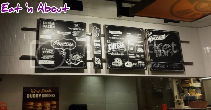 A and W's new menu