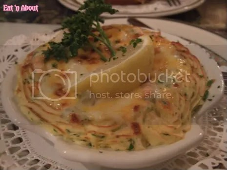 Old Bavaria Haus: Coquille St. Jacques