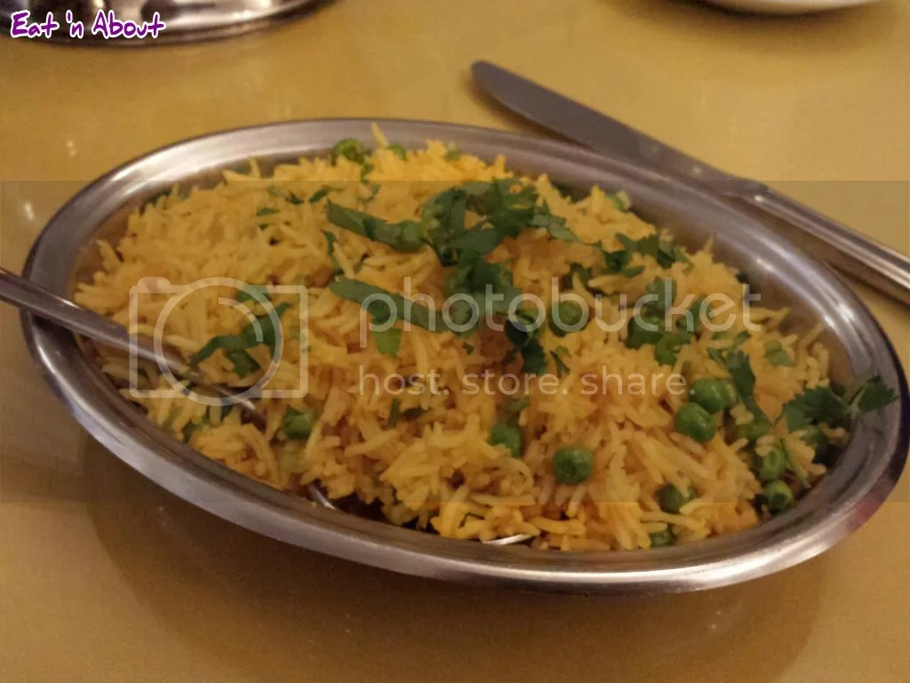 Lazymeal Mashup at Handi Cuisine of India Burnaby: Pea Pulao