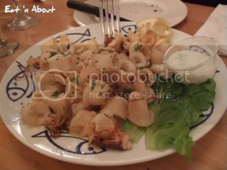 Marcello Pizzeria: Deep-fried Baby Squid