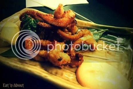 Guu Izakaya Richmond: Deep-fried Squid Legs w/ Spicy Mayo