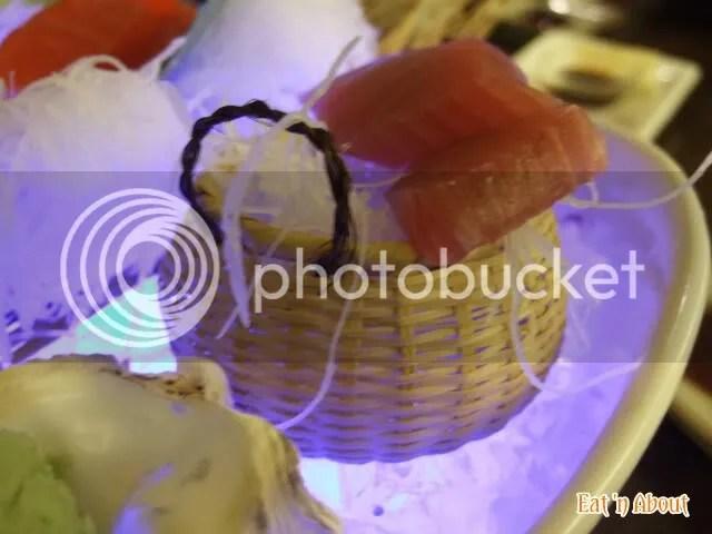ShuRaku Sake Bar and Bistro: Red Tuna sashimi