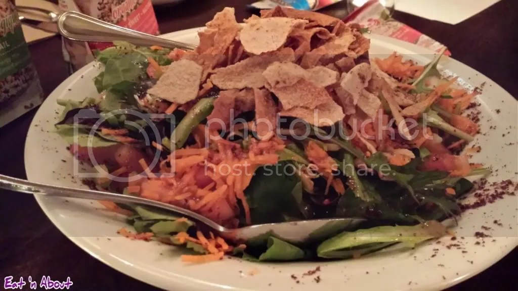 Nuba and Ra Energy: Fattoush Salad