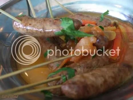 Laziza Modern Mediterranean: Maqanik Lamb Sausages