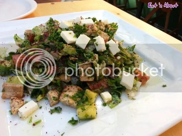 Tamam Fine Palestinian Cuisine: Fattoush Salad