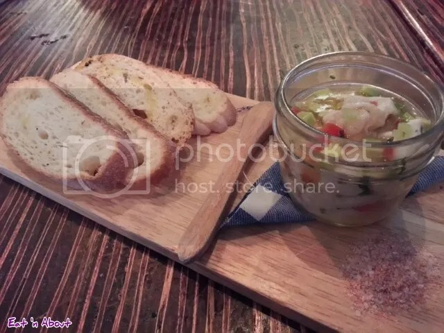 Merchant's Oyster Bar: Prawn & Cod Ceviche