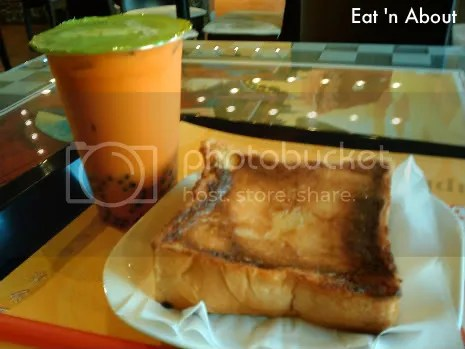 Tapioca Express: Fluffy Thick Toast with Thai Bubble Tea