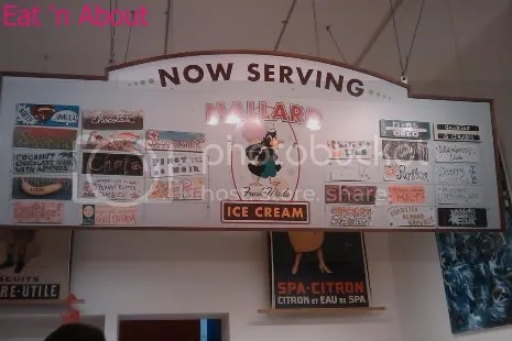 Mallard Ice Cream menu