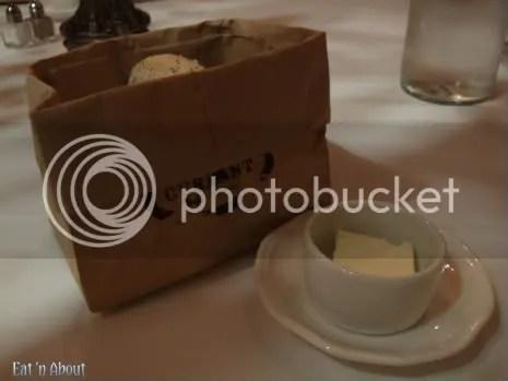 Currant American Brasserie bread