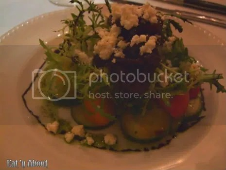 Currant American Brasserie: Heirloom Tomato Salad