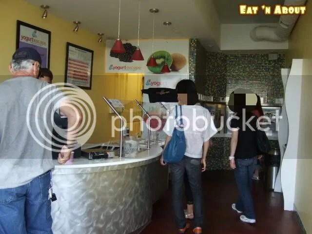 yogurt escape interior