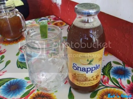 Carlos Cantina: Lemon Tea Snapple