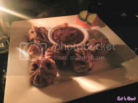 The Mint Dining Lounge in Victoria: Water Buffalo Momos