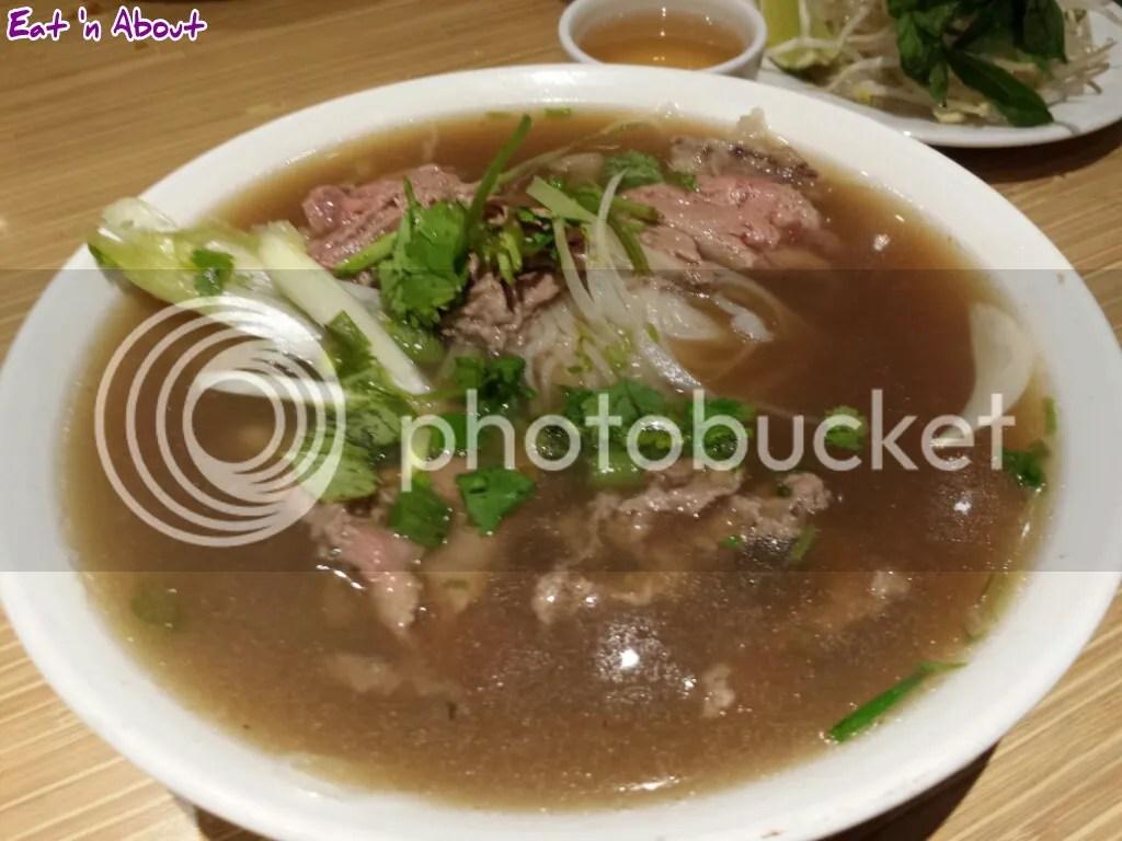 Pho Hoang Rare Beef and Tendon Pho