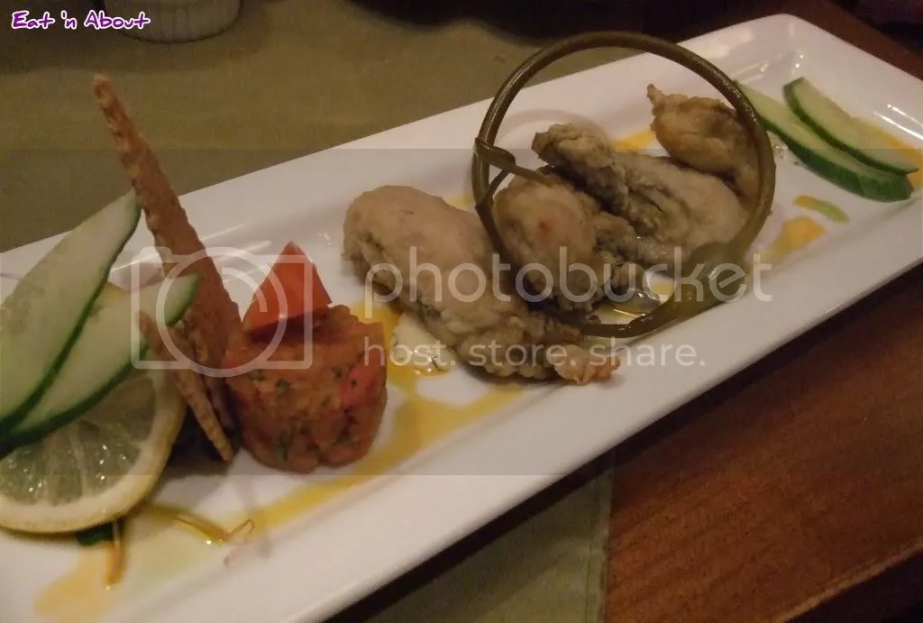 Locals: Pan Seared Fanny Bay Oysters