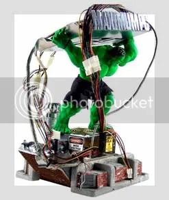 Para os fãs do verdão agora! Bem criativa a solução para esconder os fios.