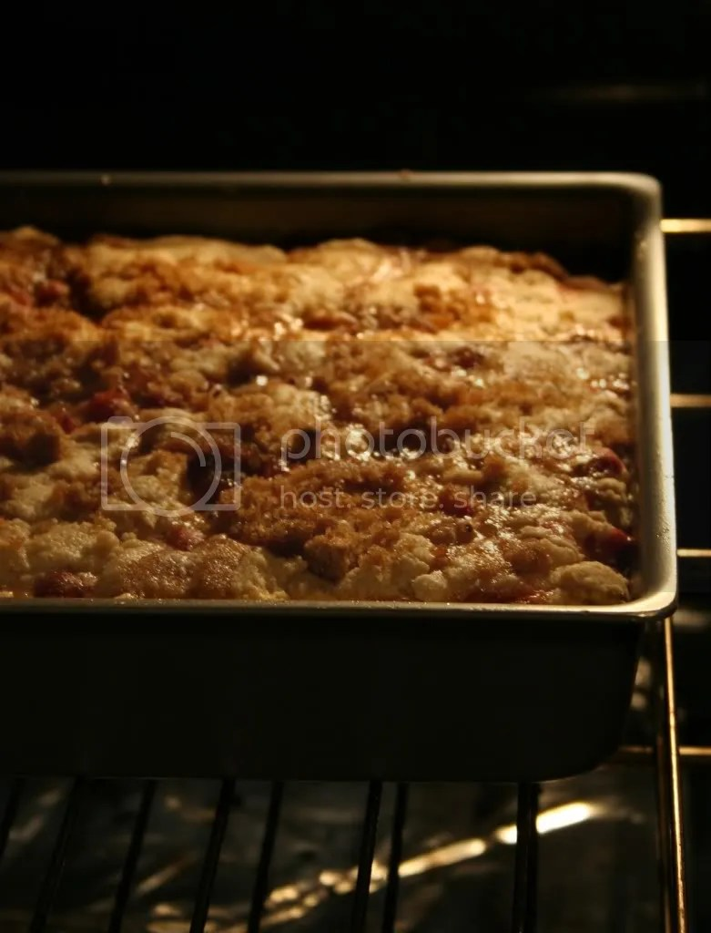 I have a secret passion for these oven shots...Theyre so intimate and romantic!