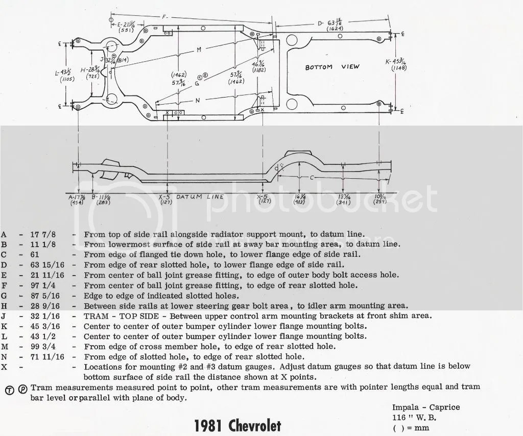 Dodge Dakota Frame Dimensions