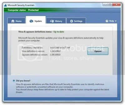 Microsoft Security Essentials Pictures, Images and Photos