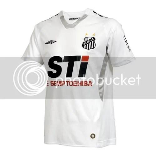 Santos 2009/10 Umbro Home Jersey