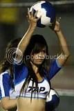 Mexican Soccer Cheerleaders Porristas