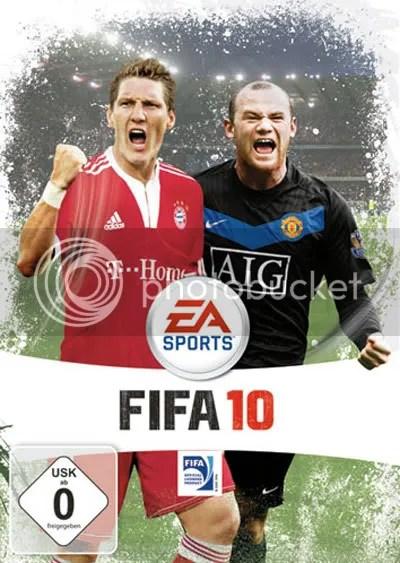 FIFA 10 German / Deutsche Cover Art
