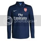 Arsenal FC 2009-10 Nike Away Kit