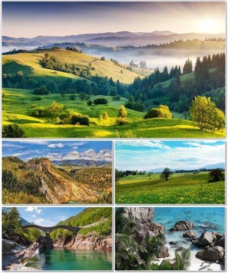 Красивые природные ландшафты с разных мест планеты. Часть 21