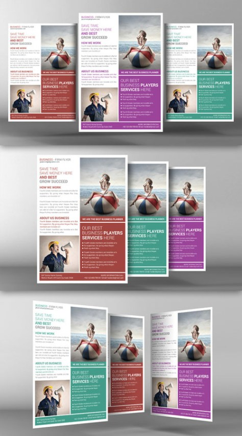 Corporate Business Flyer Template - CM 96392