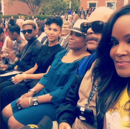 Image result for usher and tameka foster 2017