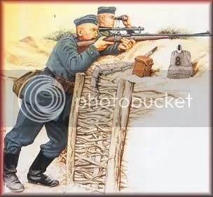 Snipers Alemães com Mouser