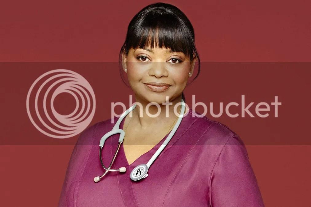 Octavia Butler as Nurse Jackson on Red Band Society