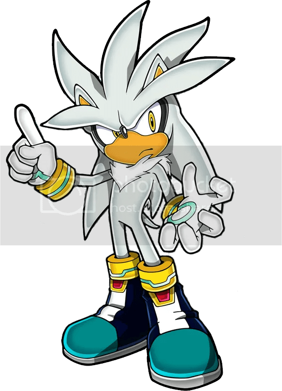 sonic emerald silver the hedgehog
