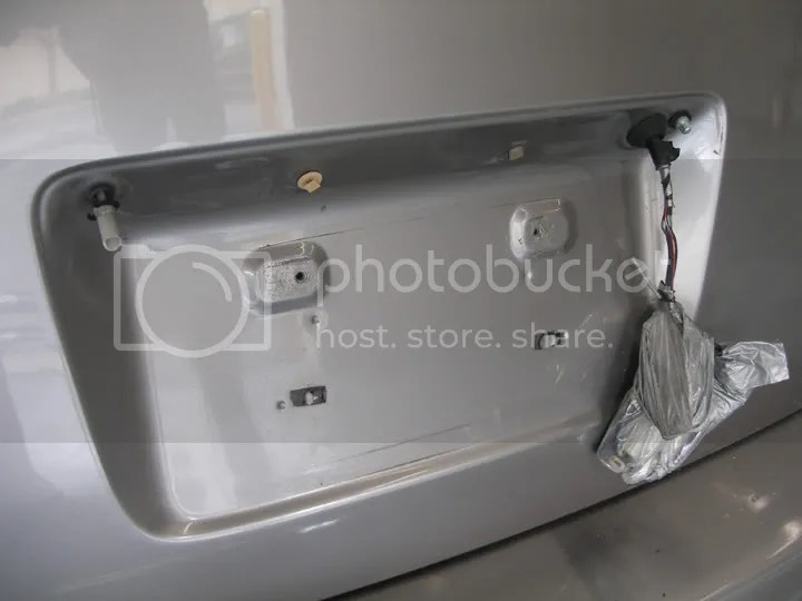 Warranty Enhancement ZTW For Back Door Garnish Scion Xb