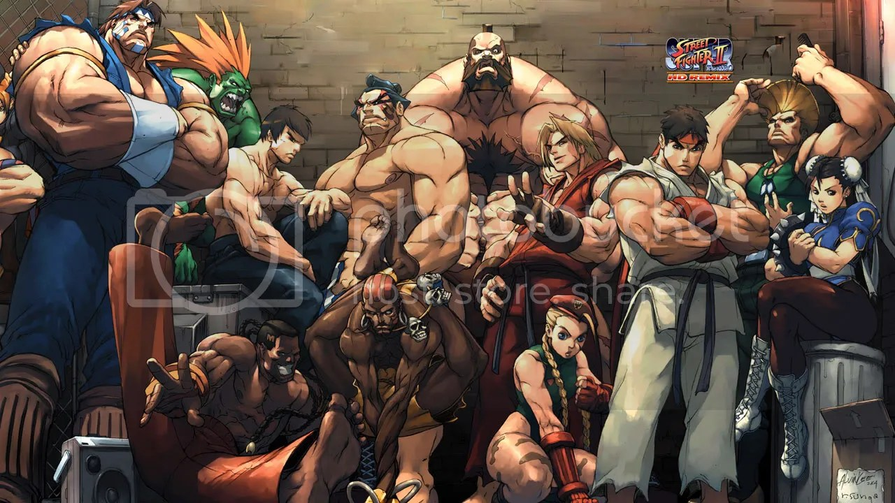 Street Fighter 2 HDR Photo By 360DashboardImages Photobucket
