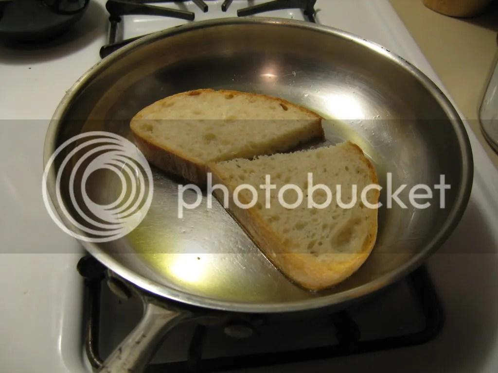 bruschetta toast #1