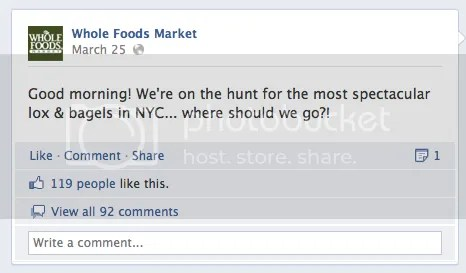 whole foods FB