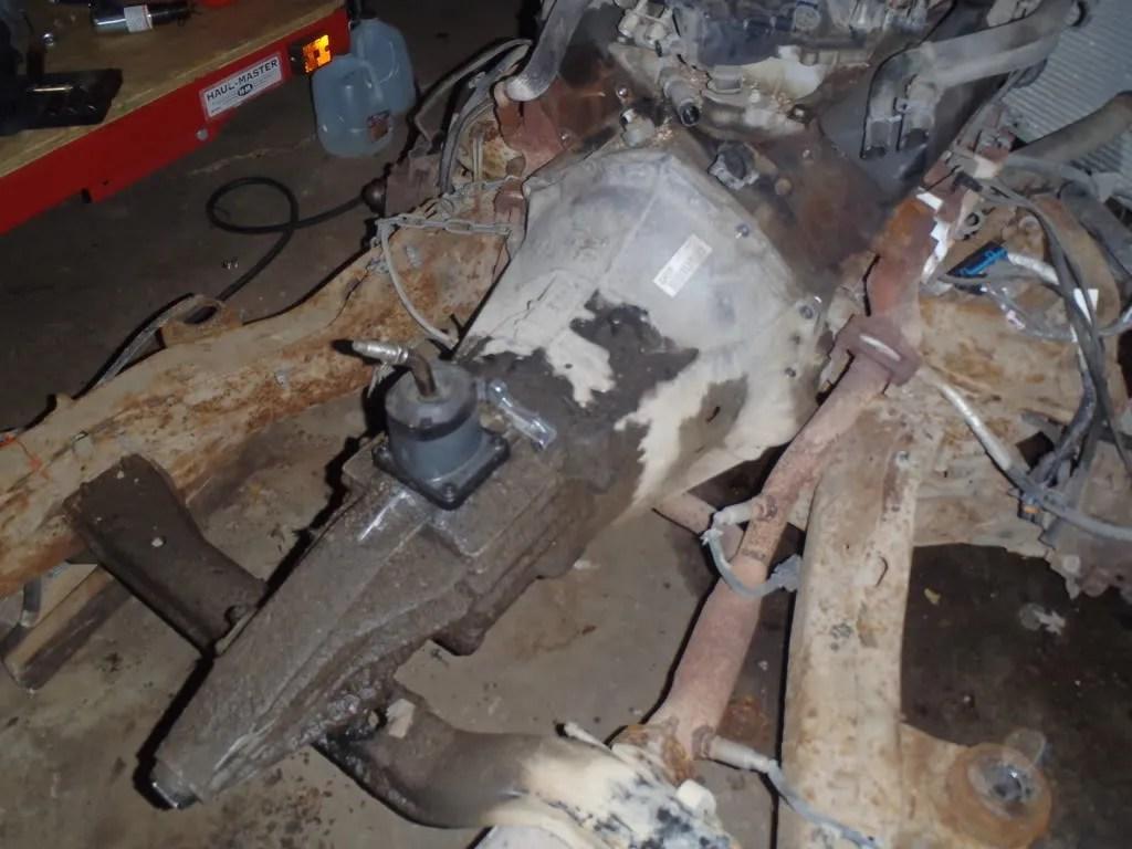 Chevy Nv3500 5 Speed Transmission Nv4500 Case Diagram