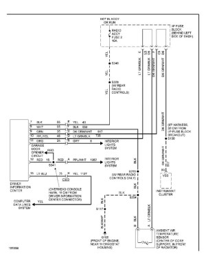 Overhead Console Wiring (Large Pics)  S10 Forum